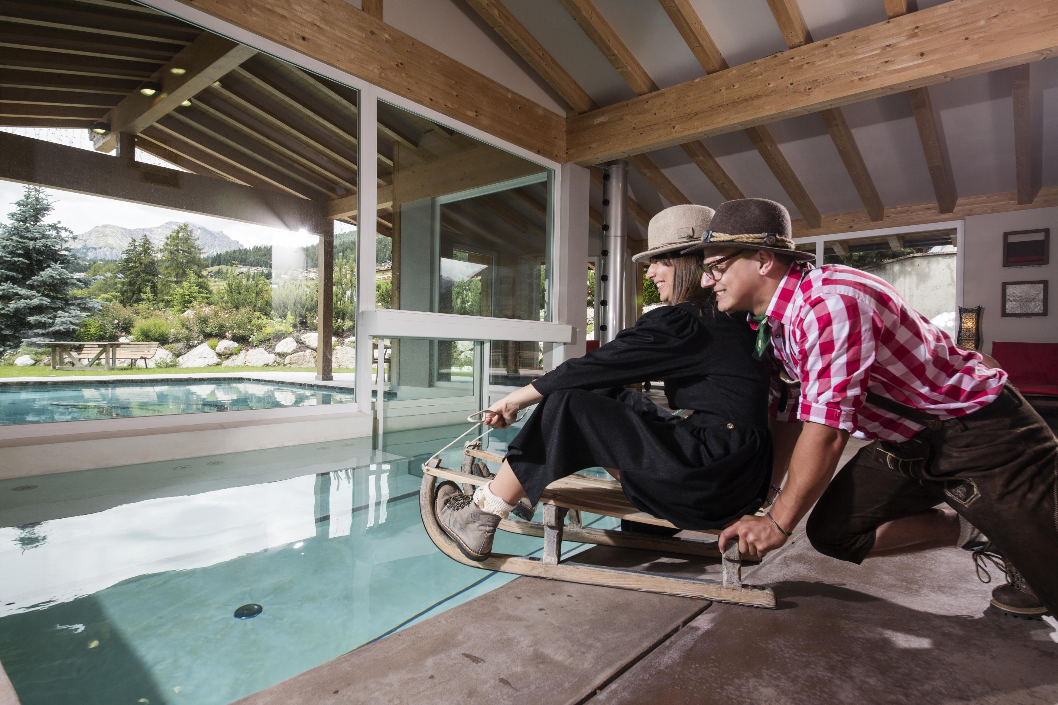 Hotel val di fassa con piscina trento 2018 - Hotel con piscina riscaldata montagna ...